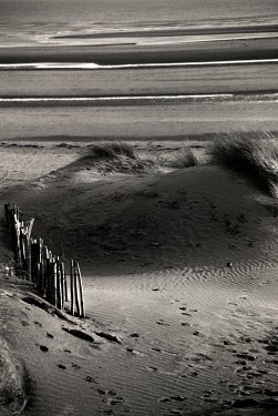 Richard Dunkley EMPTY BEACH WITH SAND DUNE Seascapes/Beaches