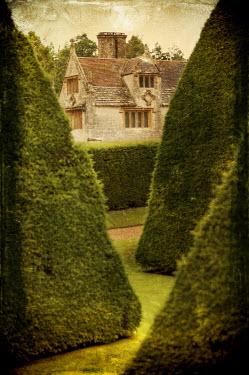 Stuart Brill OLD TUDOR MANOR HOUSE WITH GARDEN Houses