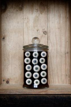 Clayton Bastiani GLASS JAR OF EYES Miscellaneous Objects