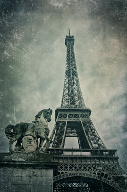 Mohamad Itani EIFFEL TOWER IN PARIS WITH STATUE Specific Cities/Towns