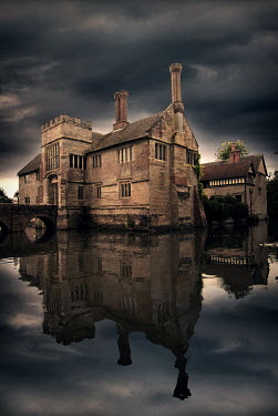 Michael Trevillion HISTORICAL HOUSE WITH MOAT Houses