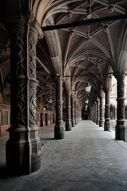 Eva Van Oosten INTERIOR OF VICTORIAN GOTHIC BUILDING Interiors/Rooms