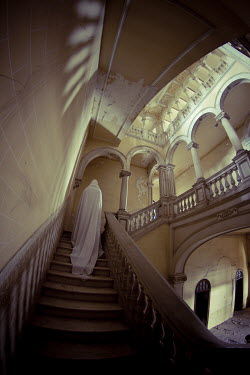 Christophe Dessaigne GHOST ON STAIRCASE IN PALACE Women