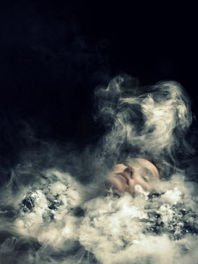 Stephen Carroll DEAD WOMAN LYING IN SMOKE Women