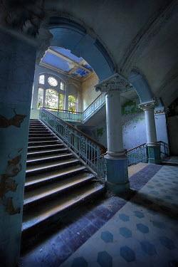 Bianca van der Werf INTERIOR OF OLD GRAND BUILDING Interiors/Rooms