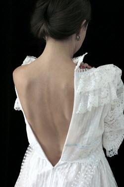 Ilona Wellmann WOMAN WITH UNZIPPED WEDDING DRESS Women