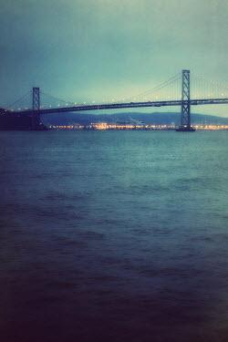 Susan Fox BAY BRIDGE BY SAN FANCISCO Bridges