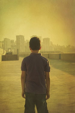 Mohamad Itani BOY WATCHING CITY SKYLINE Children