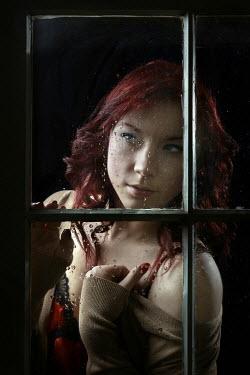 Stephen Carroll WOMAN IN LINGERIE BY WINDOW Women