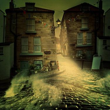 Marta Orlowska OLD STONE HOUSES WITH FLOOD Streets/Alleys