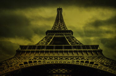 Mohamad Itani LOOKING UP THE EIFFEL TOWER Specific Cities/Towns