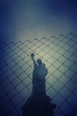 Mohamad Itani STATUE OF LIBERTY IN FOG Specific Cities/Towns