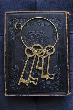 Mohamad Itani HOOP OF KEYS ON BOOK Miscellaneous Objects