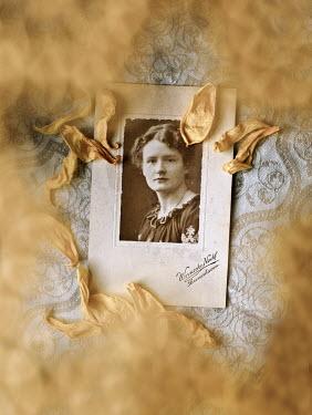 Agnieszka Kielak PHOTOGRAPH OF WOMAN WITH PETALS Miscellaneous Objects