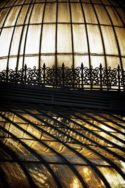 David Johnson VICTORIAN GLASSHOUSE AT NIGHT Miscellaneous Buildings