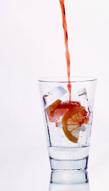 Mashael Hamad AlShuwayer RED DRINK POURING INTO GLASS Miscellaneous Objects