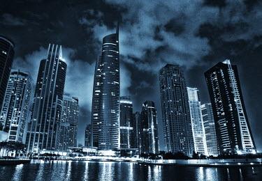 Mashael Hamad AlShuwayer SHINING DUBAI CITYSCAPE AT NIGHT Specific Cities/Towns