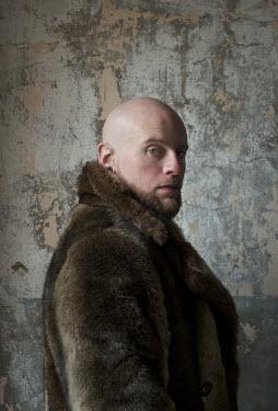 Daniel Murtagh SHAVEN MAN IN FUR COAT Men