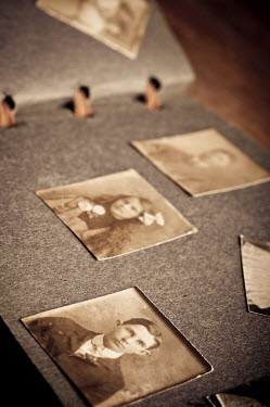 Valentino Sani PHOTOGRAPHS IN OLD PHOTO ALBUM Miscellaneous Objects