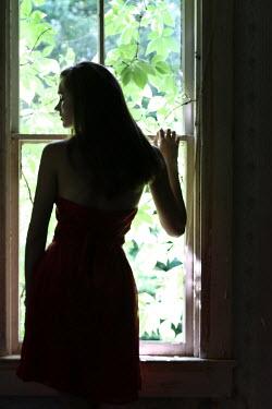 Stephen Carroll BACK OF WOMAN BY WINDOW Women
