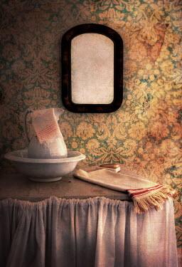 Jill Battaglia JUG, BOWL, MIRROR AND TOWEL Miscellaneous Objects