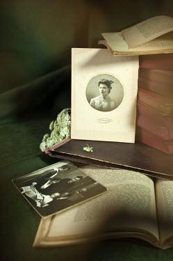 Agnieszka Kielak OLD PHOTOGRAPHS WITH BOOKS Miscellaneous Objects