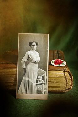 Agnieszka Kielak PHOTOGRAPH OF EDWARDIAN WITH BOOK Miscellaneous Objects