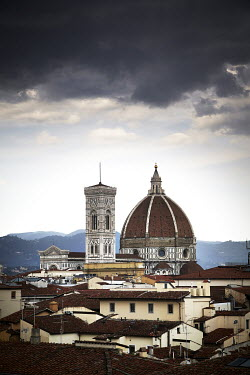 Andy & Michelle Kerry STORMY FLORENCE WITH DUOMO CATHEDRAL Religious Buildings