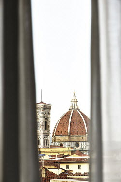 Andy & Michelle Kerry CATHEDRAL IN FLORENCE FROM WINDOW Religious Buildings