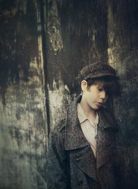 Mark Owen BOY IN TWEED COAT AND CAP Children