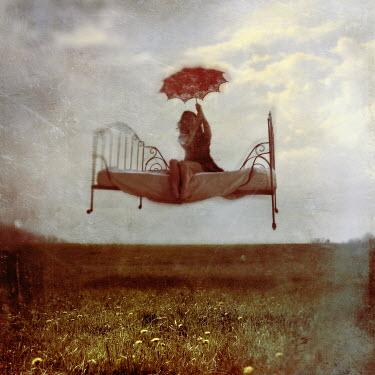 Kamil Vojnar GIRL ON FLYING BED Women