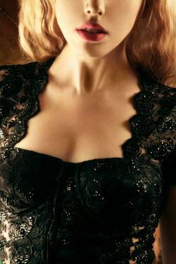 ILINA SIMEONOVA BLOND WOMAN IN LACE DRESS Women