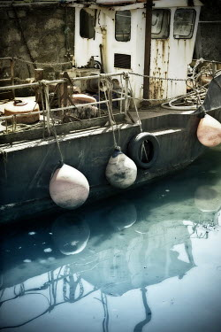 Victor Habbick BOAT WITH BUOYS Boats