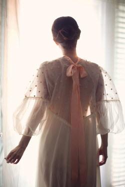 Susan Fox WOMAN IN NIGHT DRESS FROM BEHIND Women