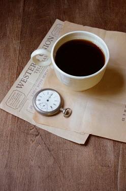 Jill Battaglia COFFEE TELEGRAM AND WATCH Miscellaneous Objects