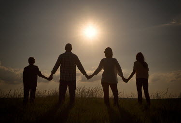 Jake Olson SILHOUETTE OF A FAMILY Couples
