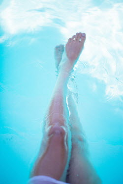 Sarah Ketelaars WOMAN'S LEGS IN POOL Women