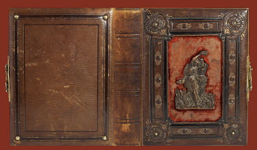 Agnieszka Kielak OLD ORNATE LEATHER BOOK Miscellaneous Objects
