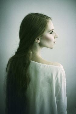 Karolina Kumorek THOUGHTFUL WOMAN WITH LONG HAIR Women