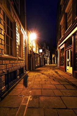 John Herbert Harrison ALLEY AT NIGHT Streets/Alleys