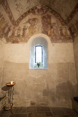 Michael Trevillion CHAPEL INTERIOR WITH FRESCO Religious Buildings