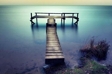 Christine Amat JETTY OVER LAKE Lakes/Rivers