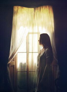 Mark Owen GIRL STANDING AT WINDOW Women