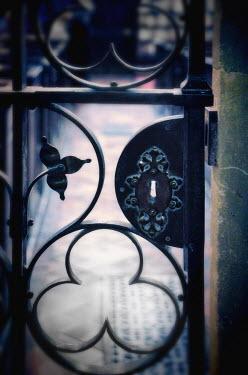 Jill Battaglia IRON GATE AND LOCK Gates