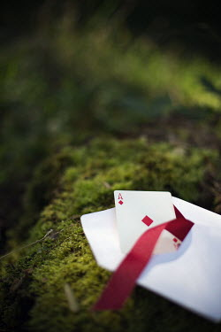 Kelly Sillaste ACE OF DIAMONDS, ENVELOPE AND RIBBON Miscellaneous Objects