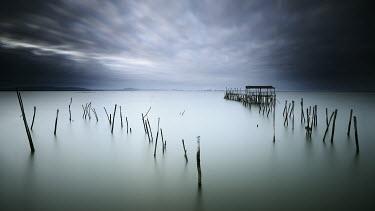 Paulo Dias GREY LAKE AT WINTERTIME Lakes/Rivers