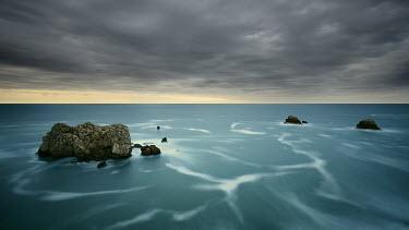 Paulo Dias STORMY SEA SCENE Lakes/Rivers