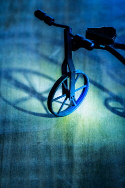 Elisabeth Ansley OLD TRICYCLE WITH SHADOWS Miscellaneous Objects