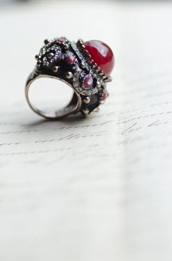 Mohamad Itani RING ON LETTER Miscellaneous Objects