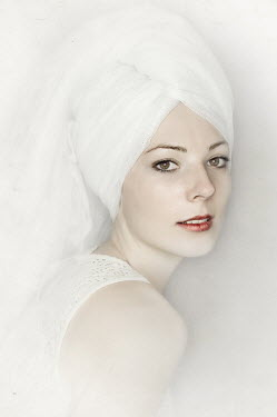 Marta Orlowska WOMAN WITH TOWEL ON HEAD Women